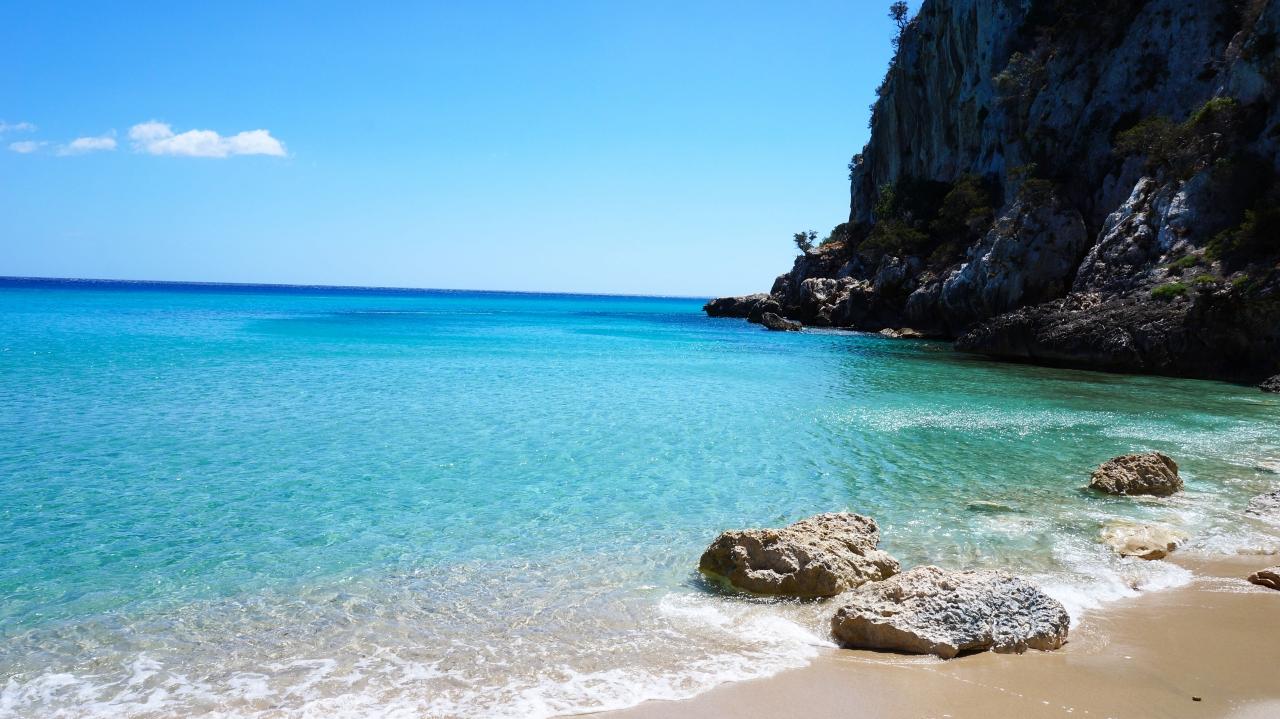 Сардиния: залив Орозеи - Spiaggia Ziu Santoru