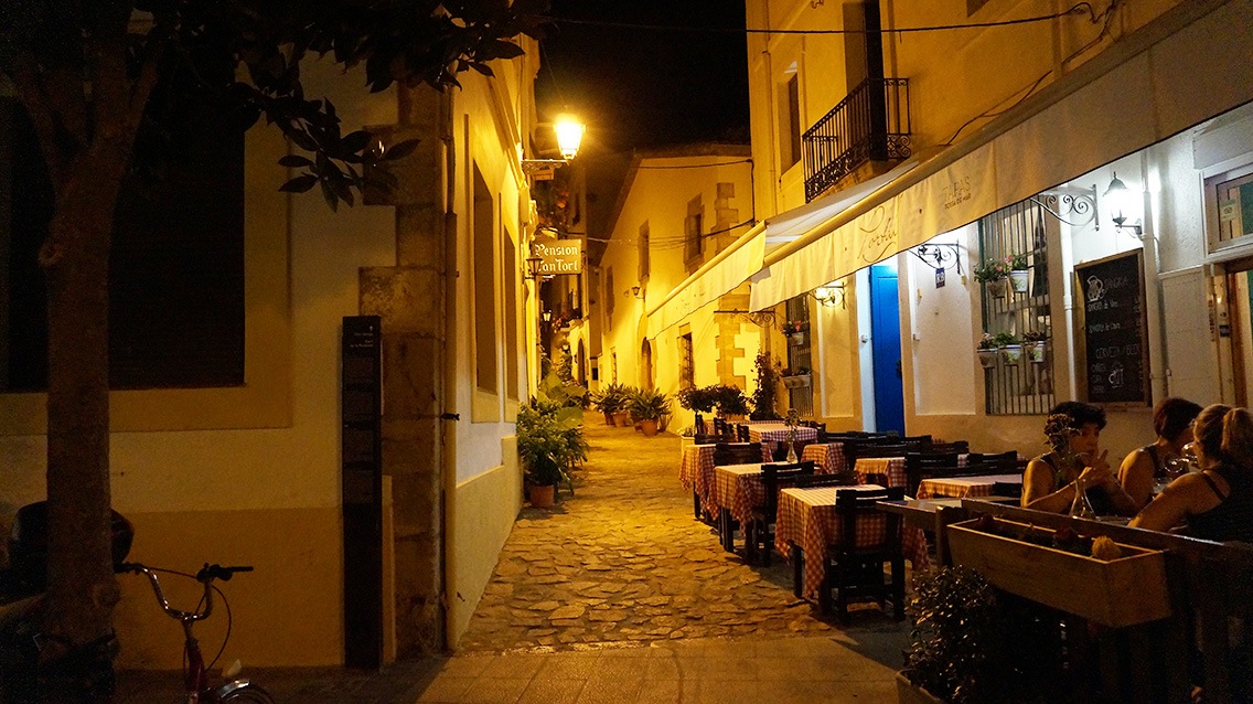 Улицы Тосса-де-Мар