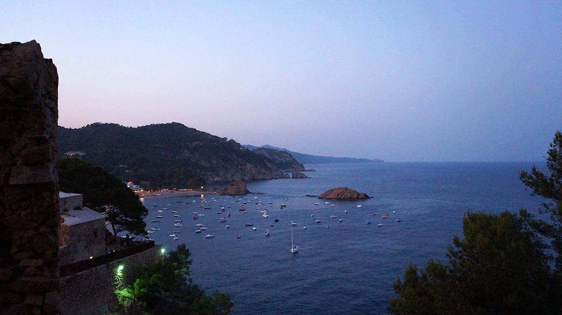 Испания - Тосса-де-Мар: Пляж Мар Менуда (Platja Mar Menuda)