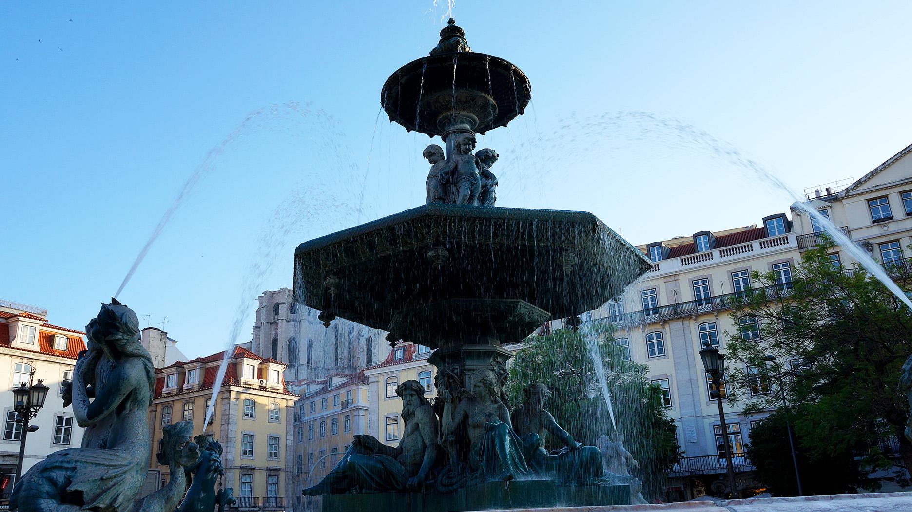 Лиссабон: площадь Россио