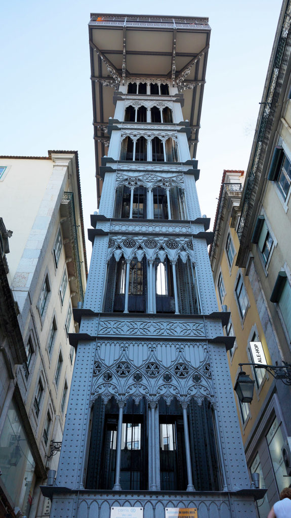 Лиссабон: лифт Санта Жуста