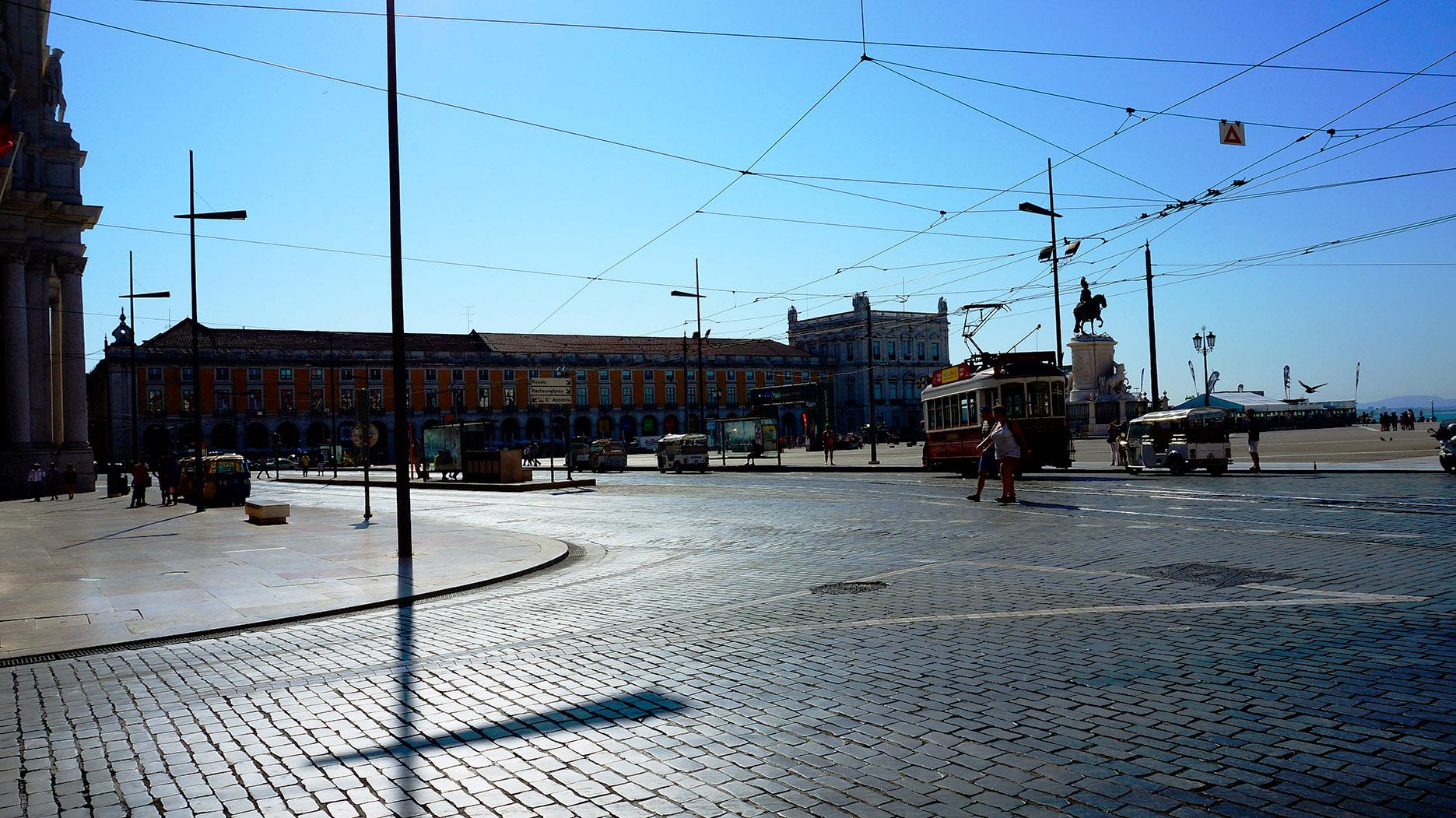 Лиссабон: Площадь коммерции