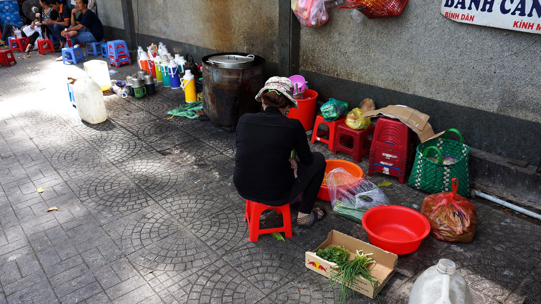 Вьетнам: улицы Хошимина