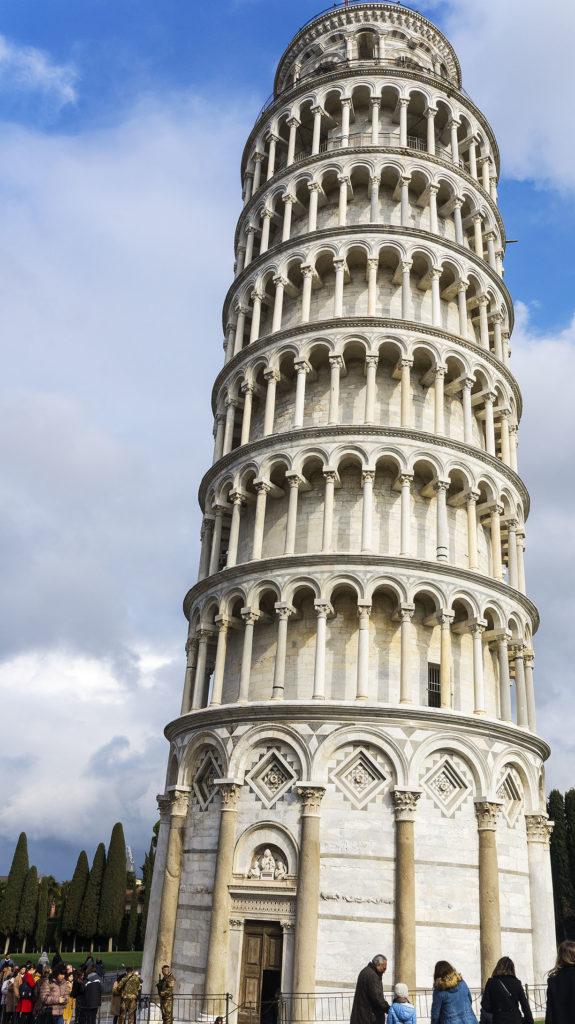 Достопримечательности Пизы: Колокольня (Campanile) - Пизанская башня