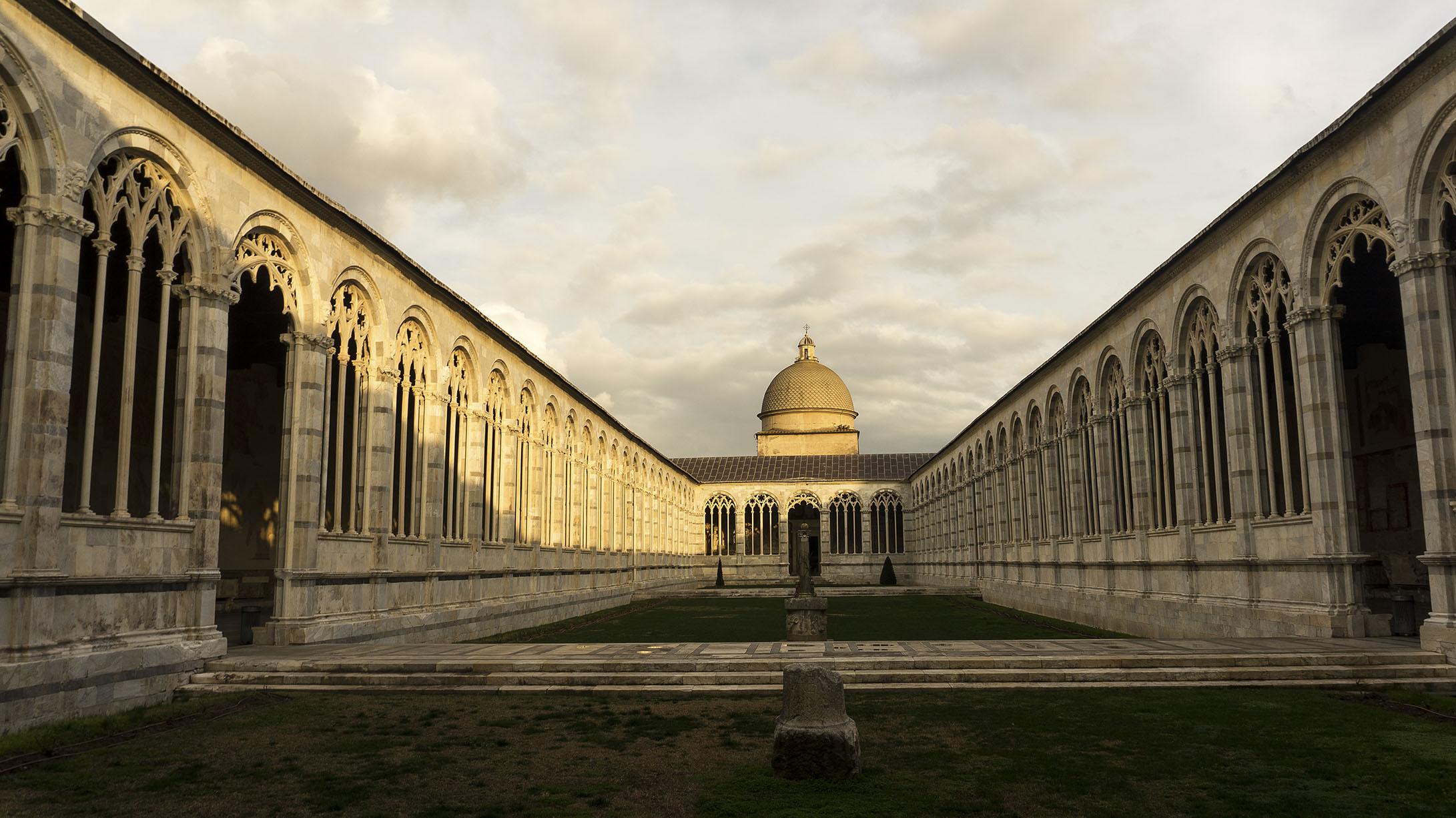 Достопримечательности Пизы: Кладбище Кампо-Санто (Campo Santo)