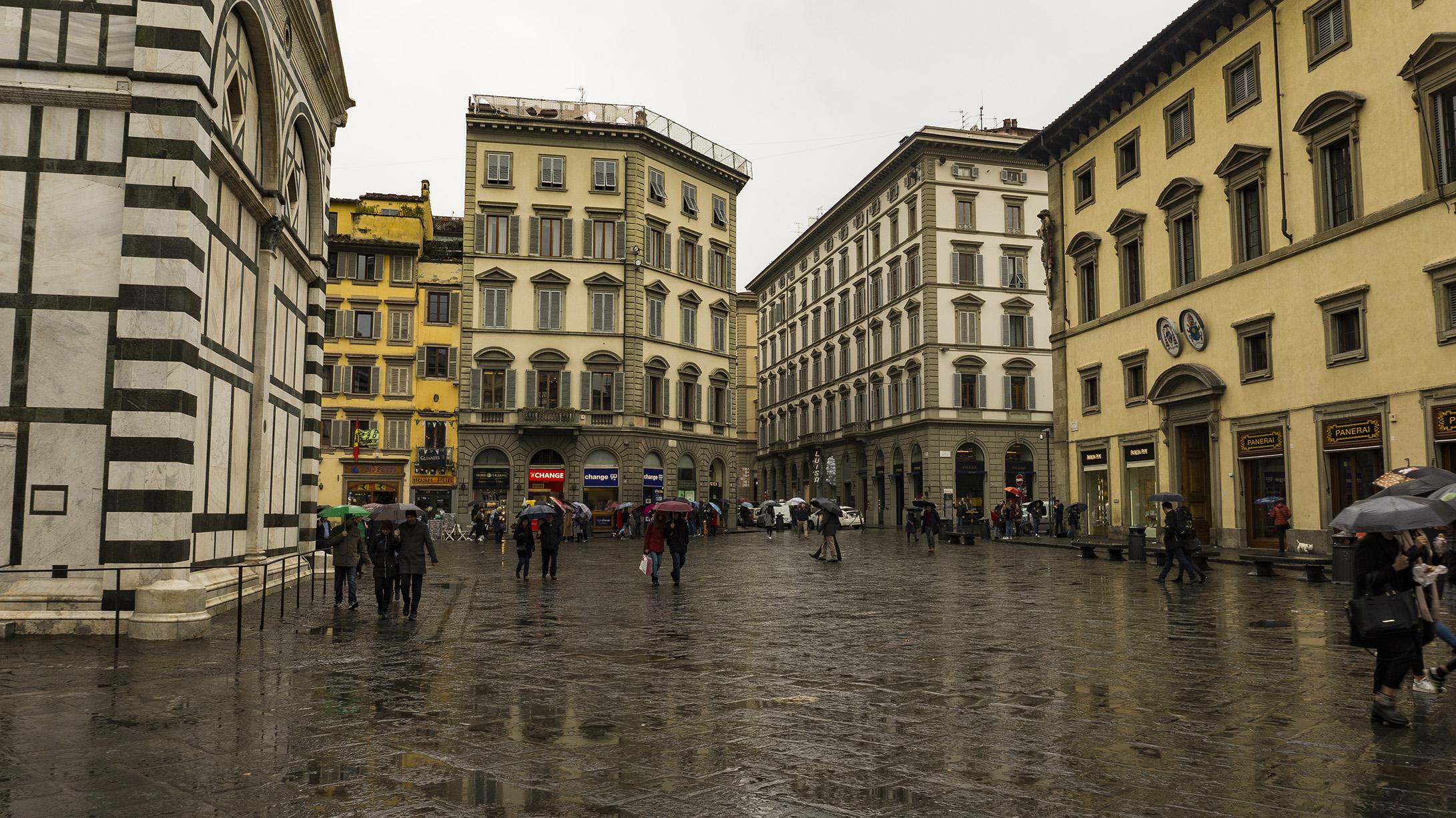 Достопримечательности Флоренции: Площадь Дуомо (Piazza del Duomo)