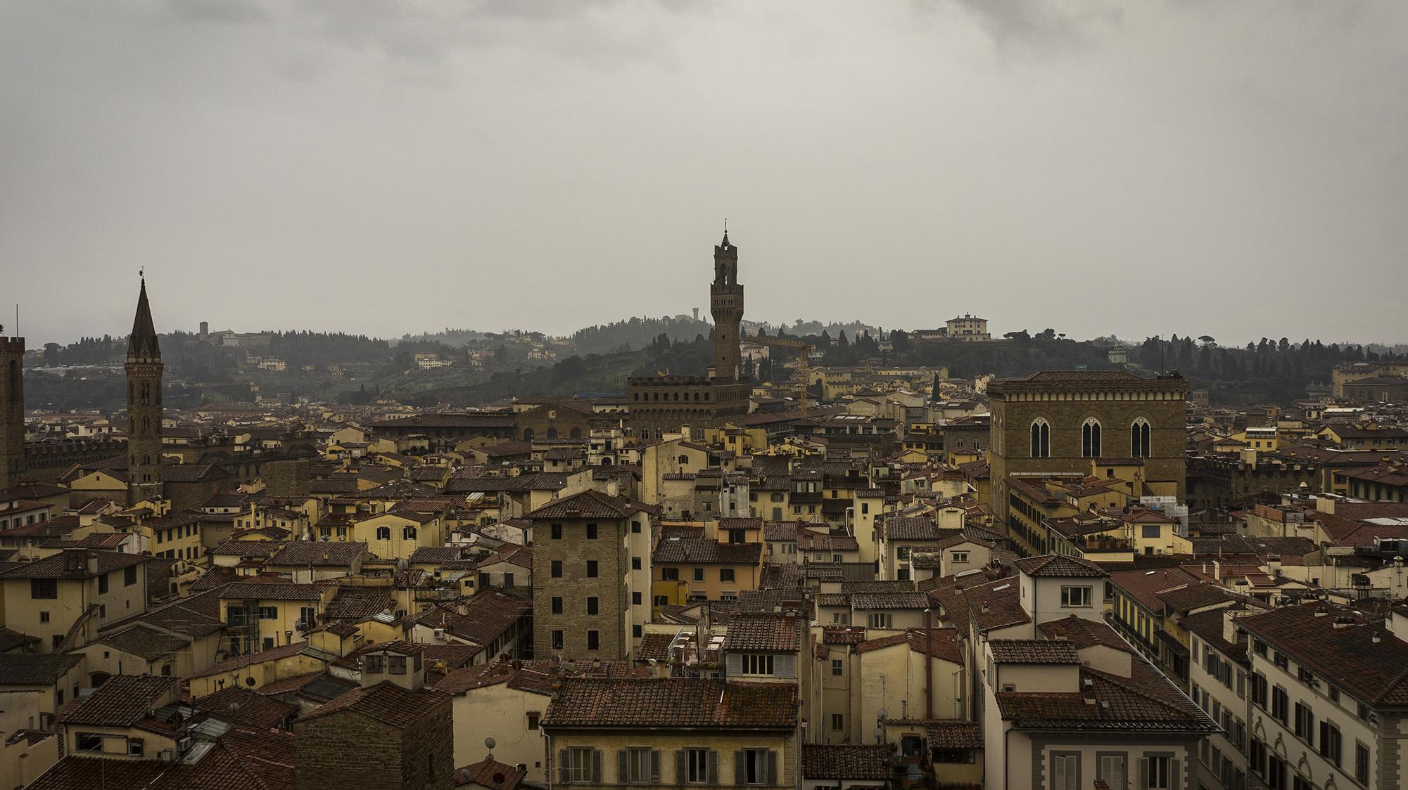 Достопримечательности Флоренции: колокольня - Кампанила Джотто