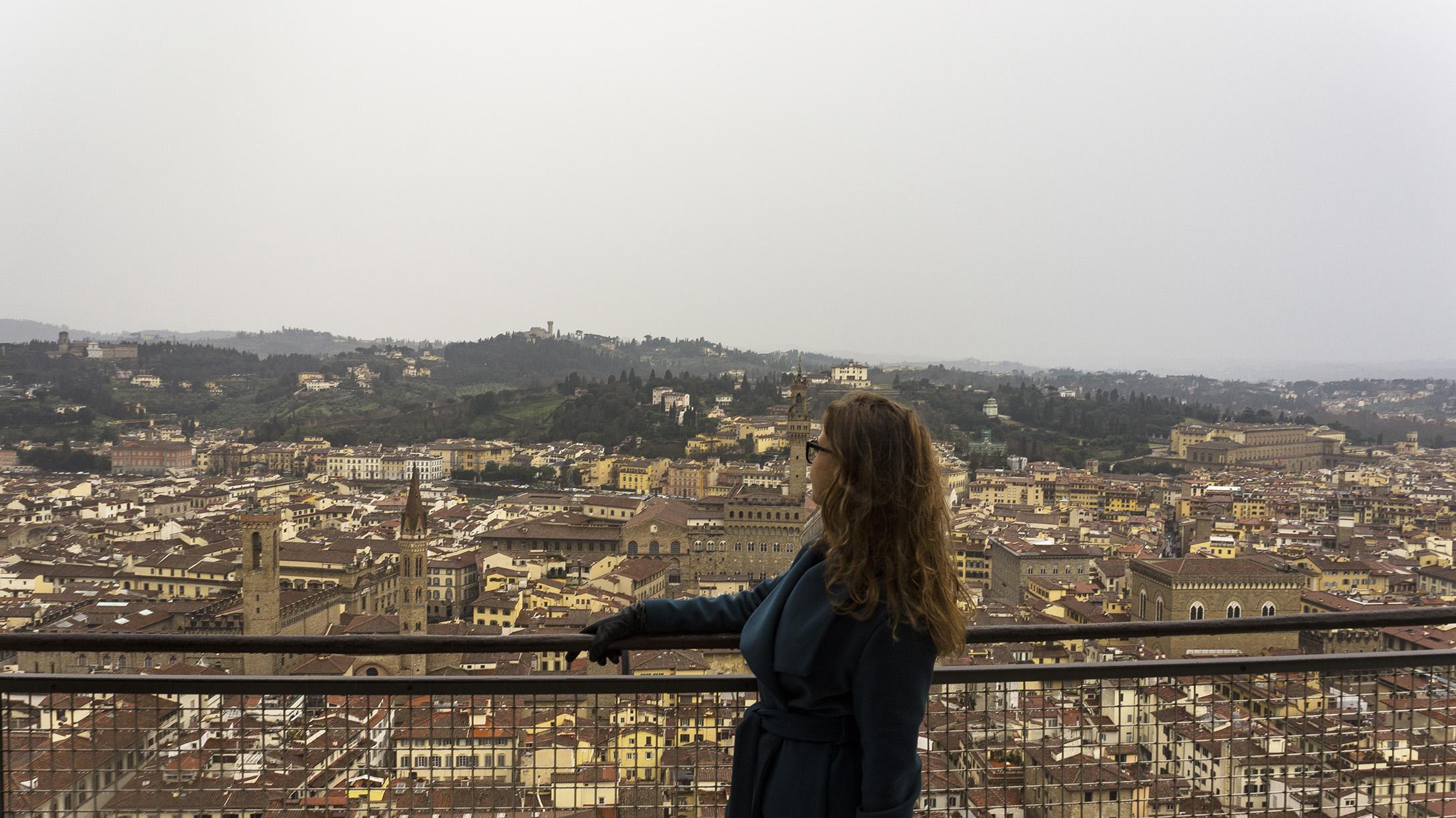 Достопримечательности Флоренции: Смотровая купола Санта-Мария-Дель-Фьоре