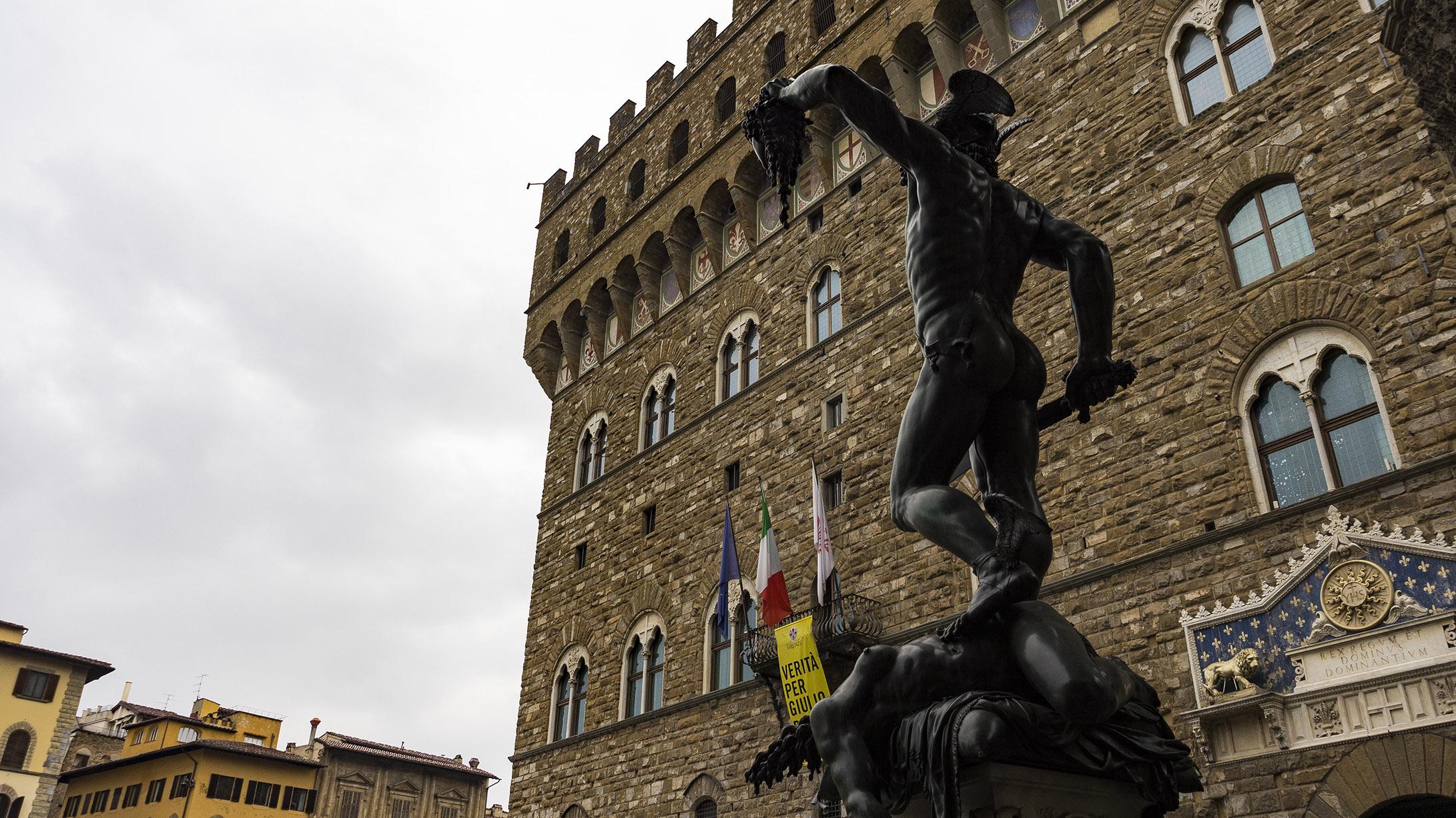 Достопримечательности Флоренции: Статуя Давида