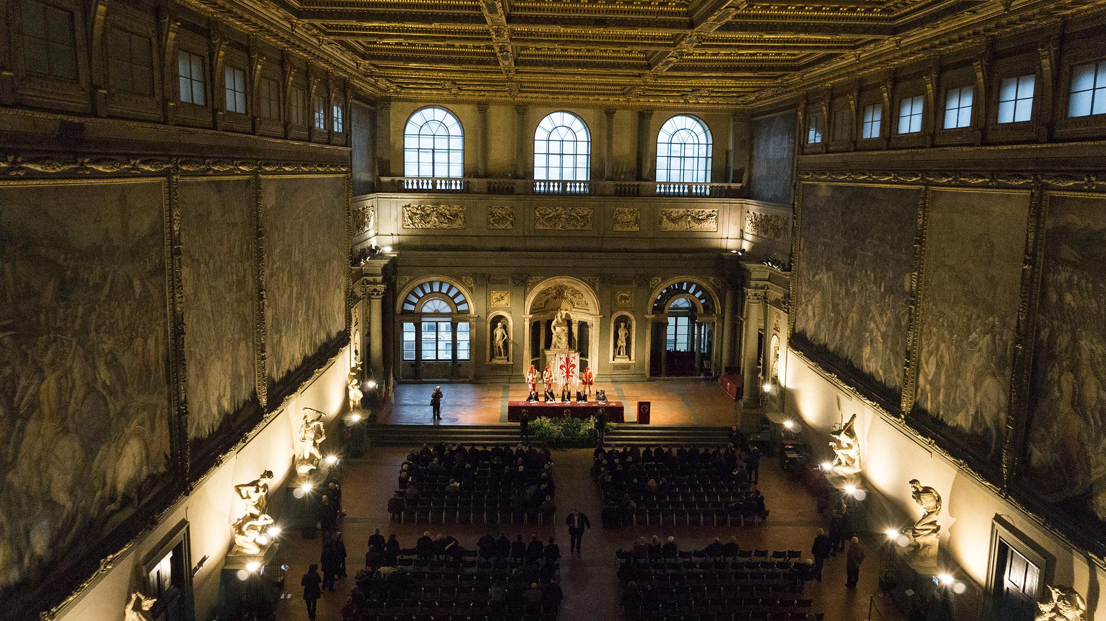 Достопримечательности Флоренции: Зал пятисот