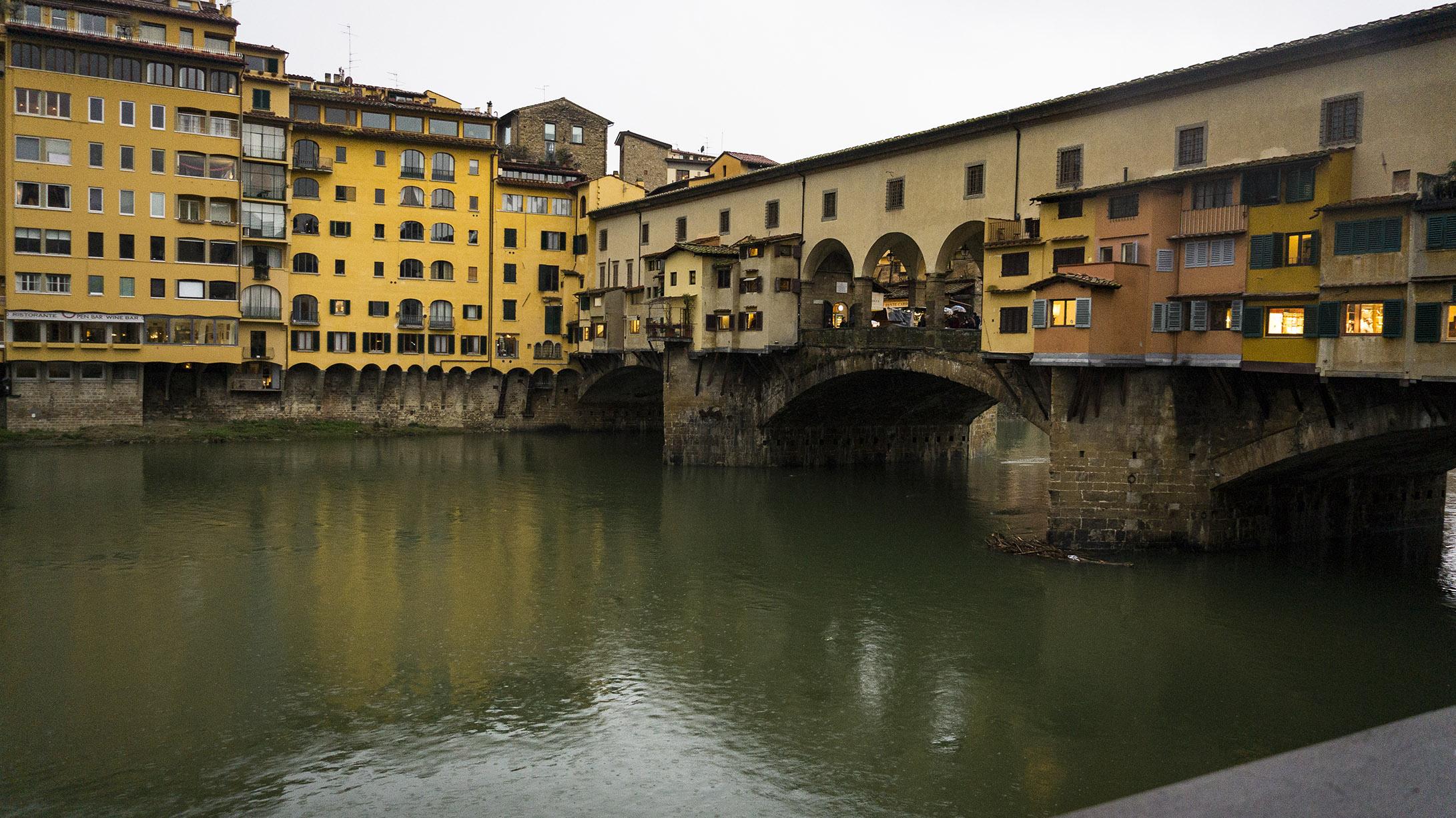 Достопримечательности Флоренции: мост Понте Веккьо