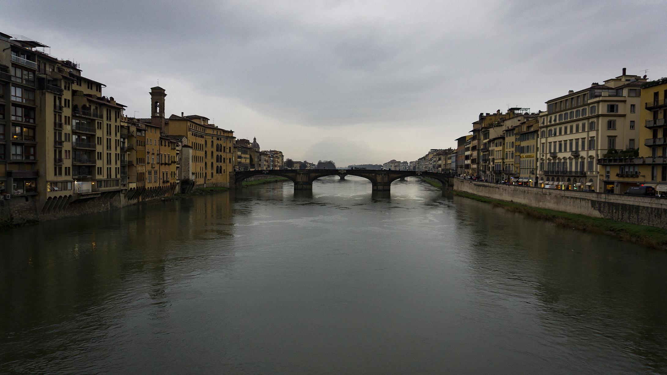 Достопримечательности Флоренции: Река Арно