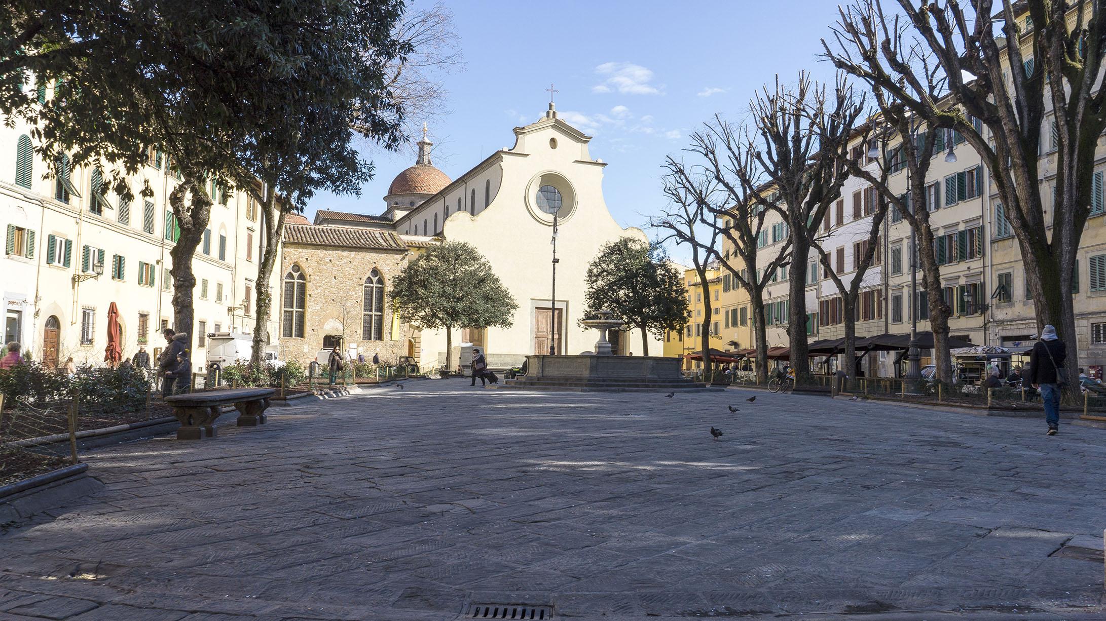 Достопримечательности Флоренции: площадь Santo Spirito