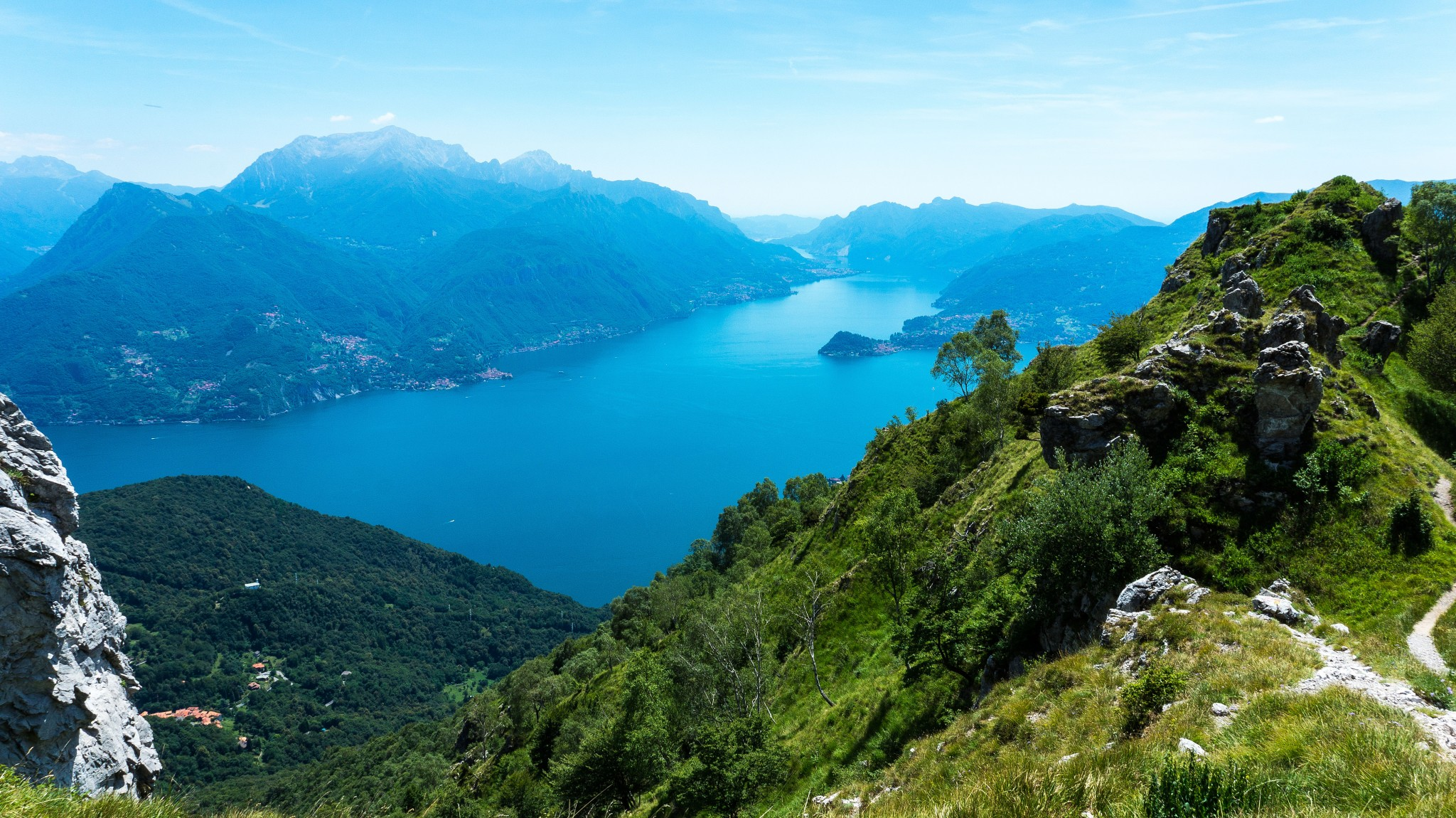 Италия: Озеро Комо - Monte Grona