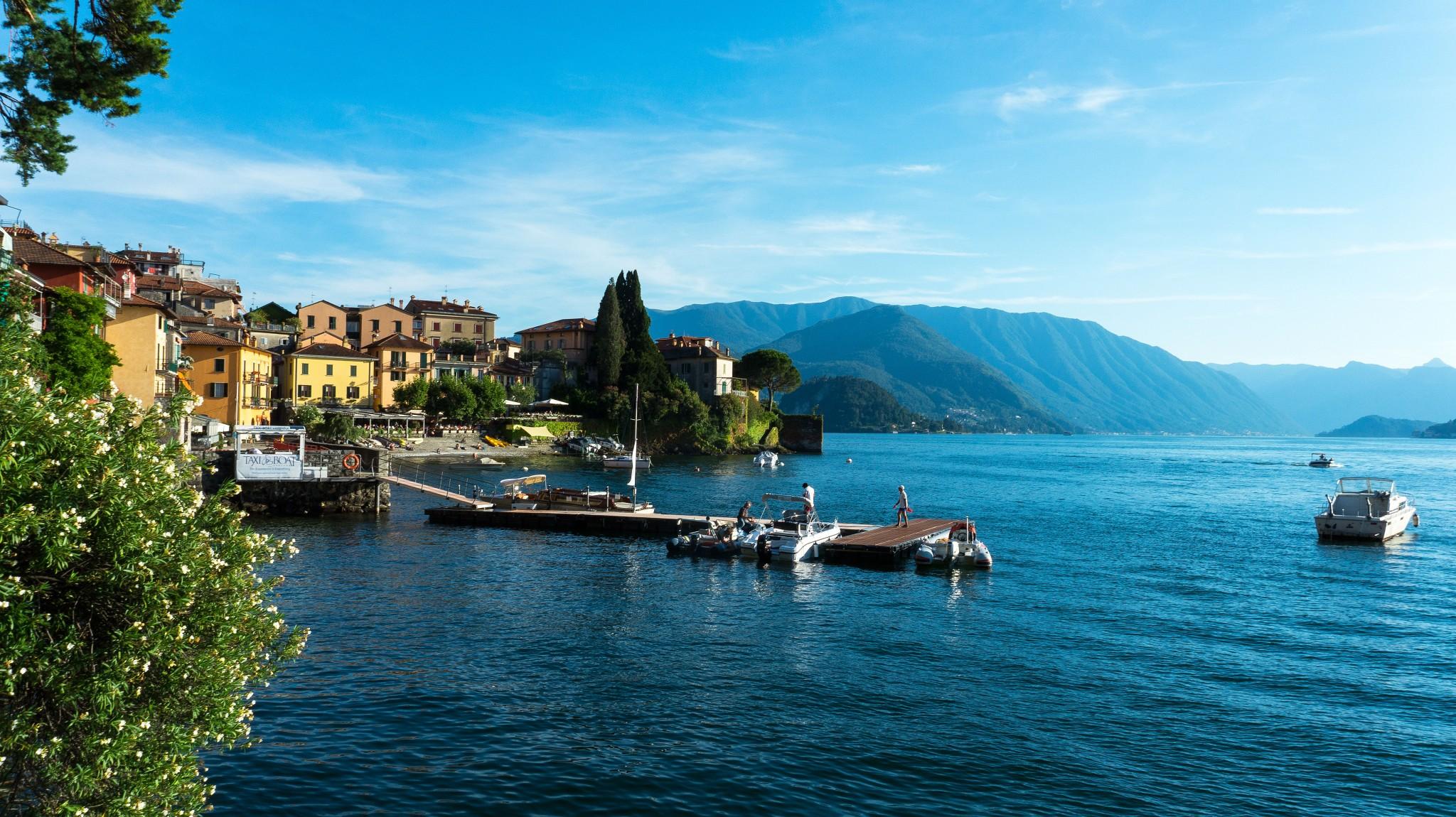 Италия: Озеро Комо - Varenna