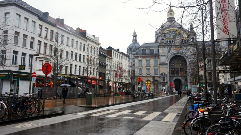 Антверпен, Бельгия - центральный вокзал (Antwerpen Centraal)