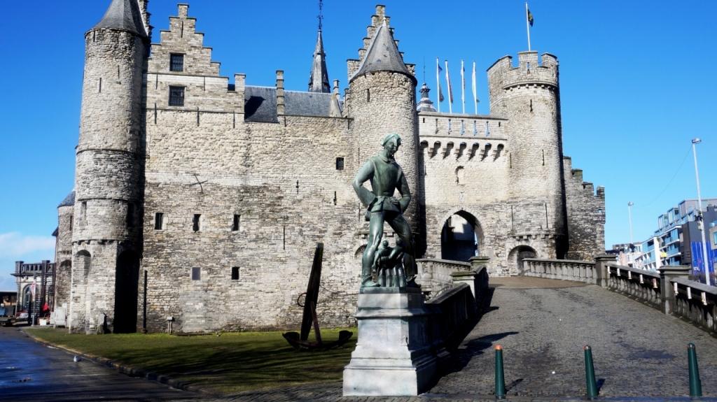 Антверпен, Бельгия - Замок Стен (Hetsteen)