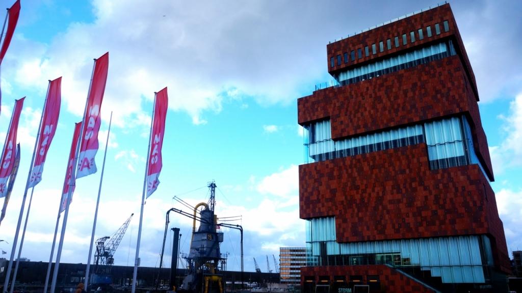 Антверпен, Бельгия - Музей MAS