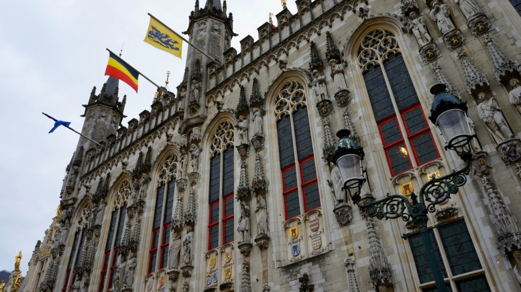 Брюгге, Бельгия: ратуша Stadhuis