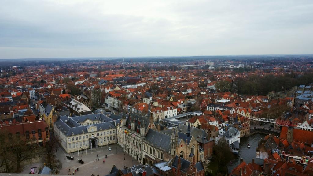 Брюгге, Бельгия: смотровая площадка на Belfort