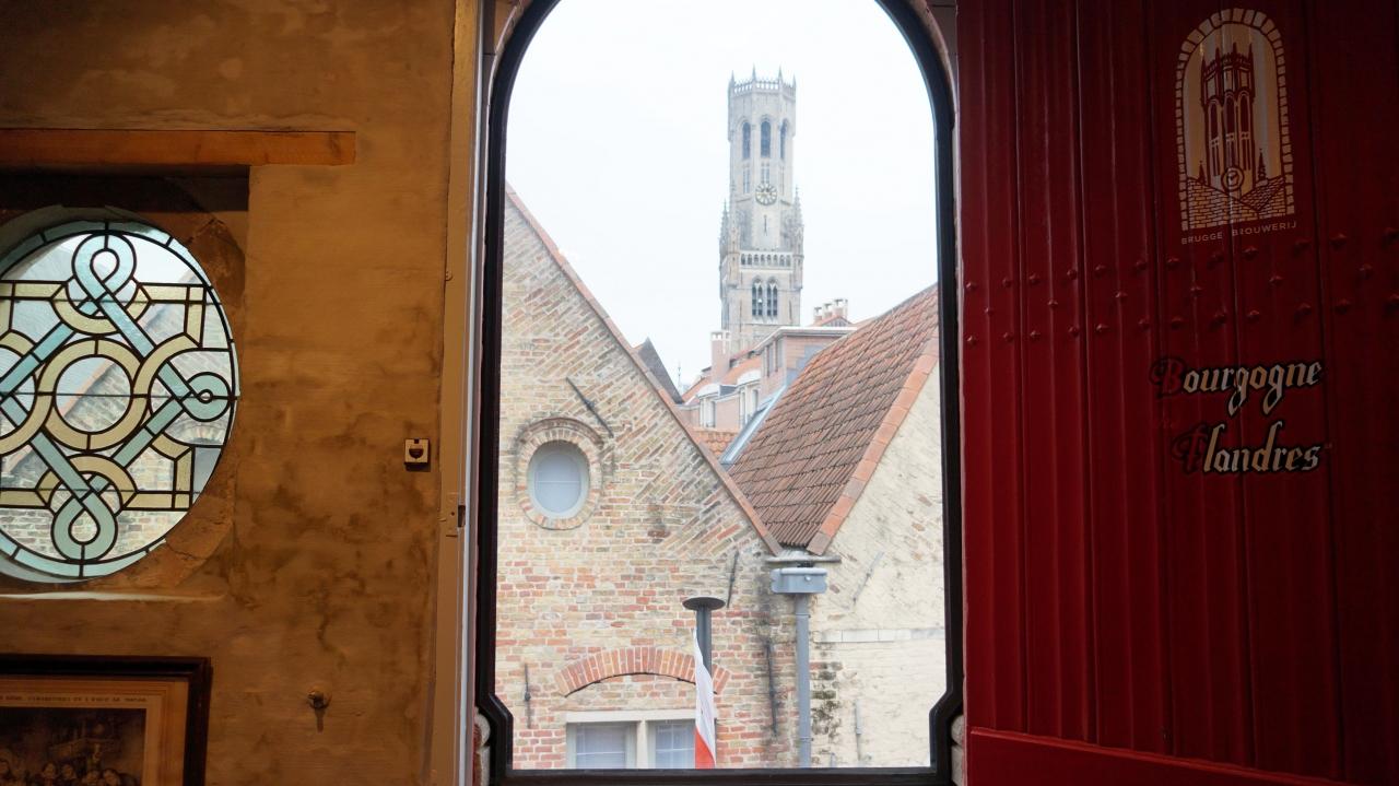 Брюгге, Бельгия: пивоварня Bourgogne de Flandres