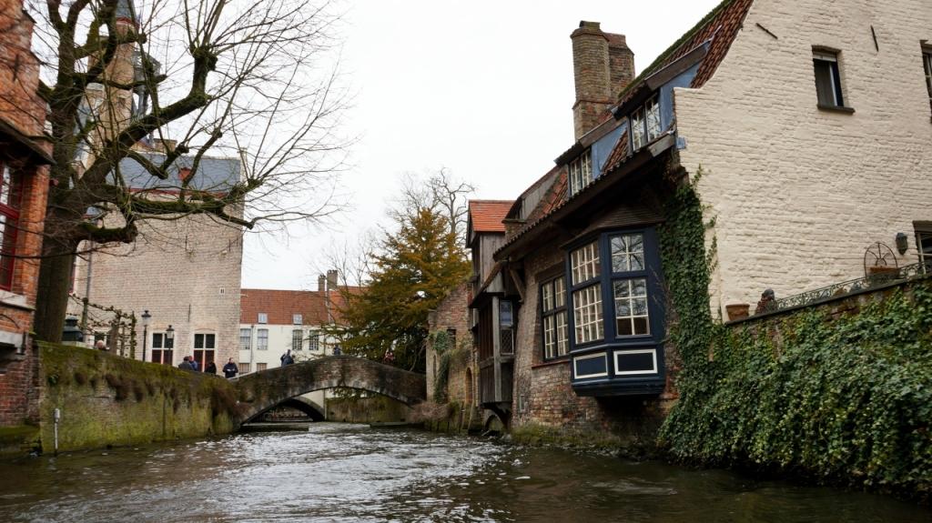 Брюгге, Бельгия: экскурсия по каналам