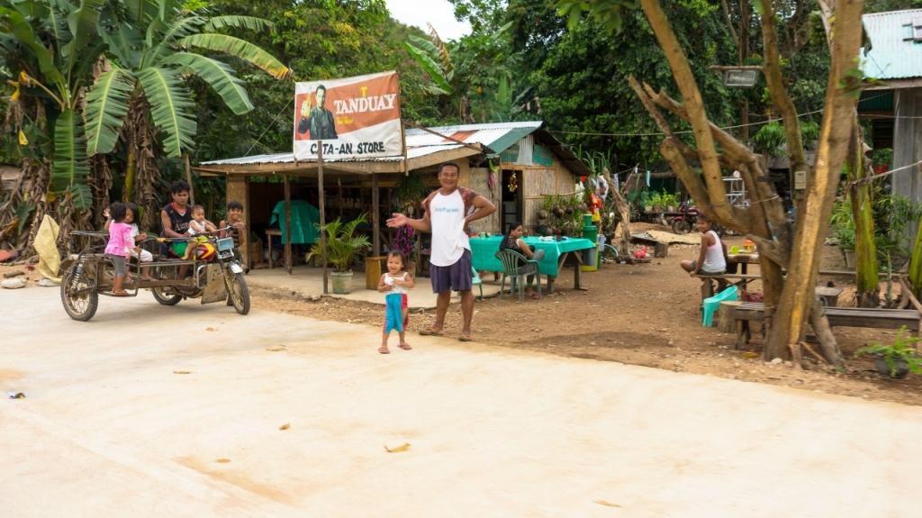 Остров Бусуанга: местные жители