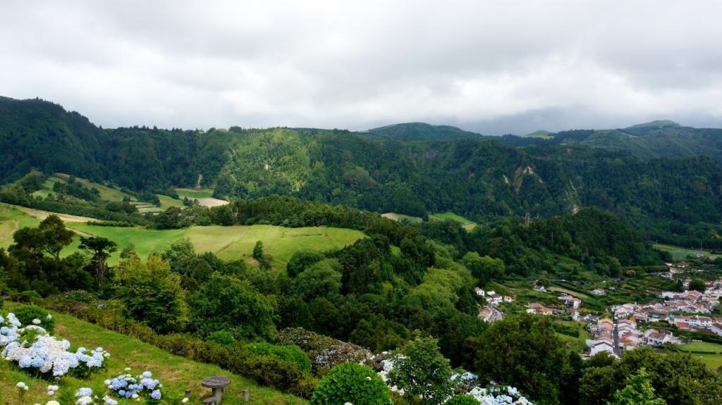 Азорские острова, Сан Мигель: Miradouro da Lomba dos Milhos