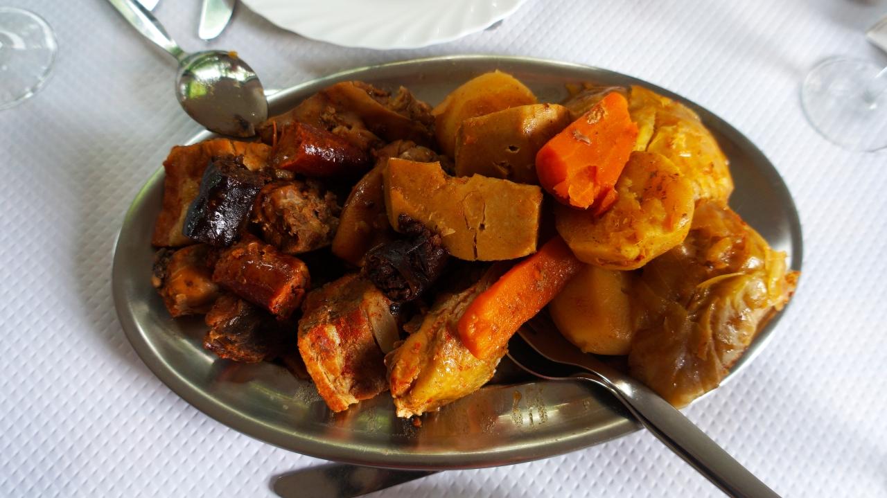 Азорские острова, Сан Мигель: блюдо Cozido