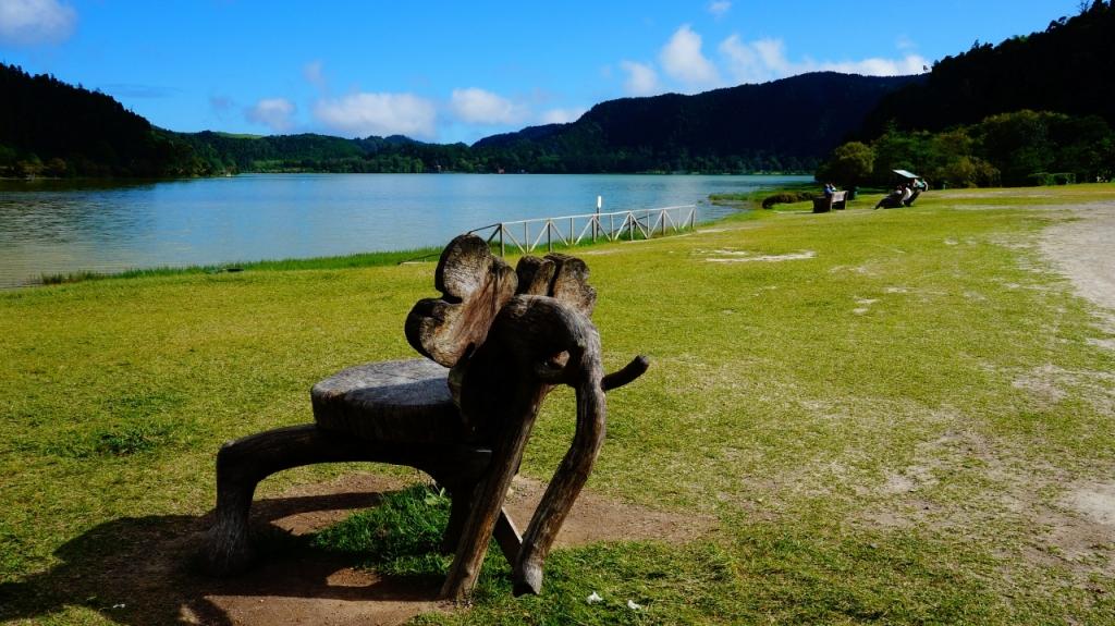 Азорские острова, Сан Мигель: озеро Lagoa das Furnas