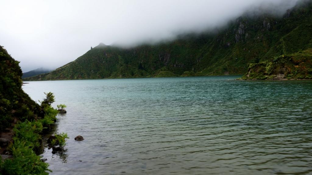 Азорские острова, Сан Мигель: озеро Lagoa do Fogo