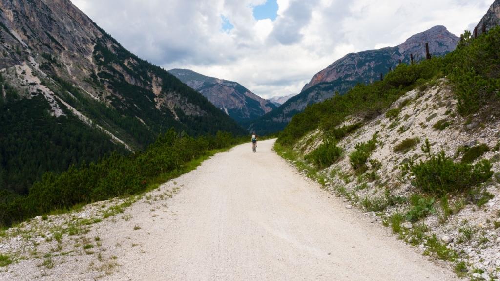 Кортина д'Ампеццо: велосипедный маршрут