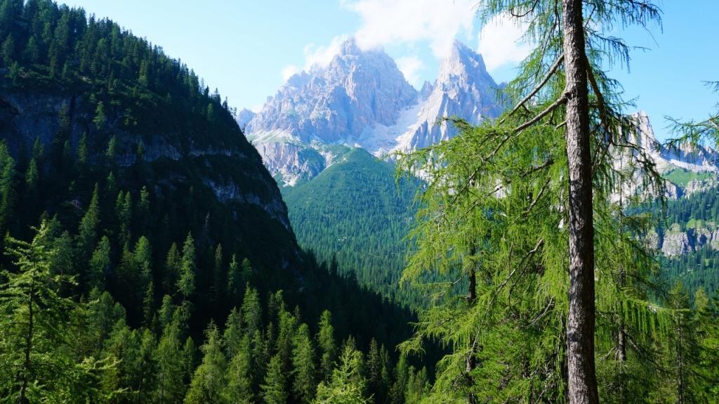 Кортина д'Ампеццо: Маршрут от Sorapiss до Passo Tre Croci