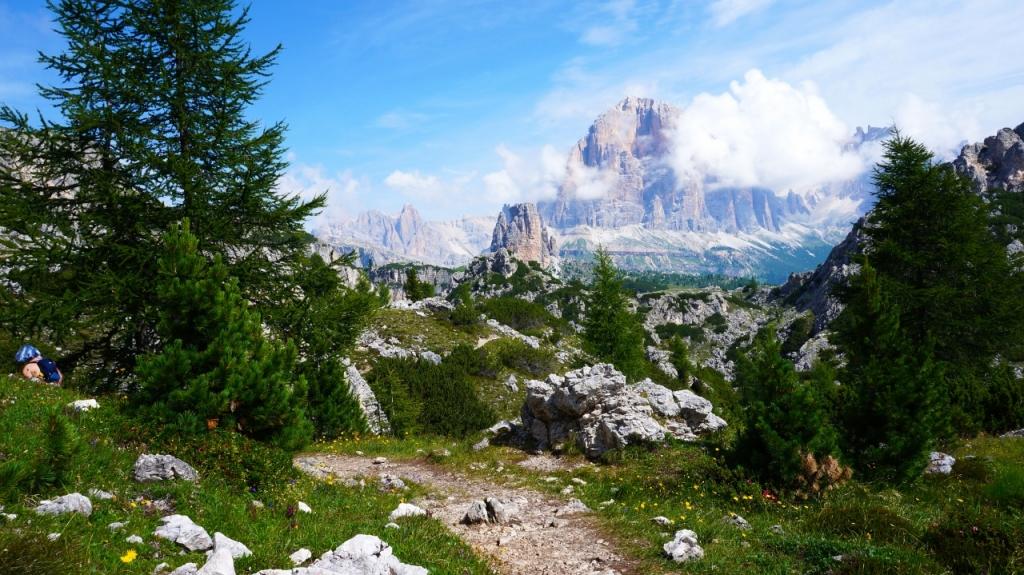 Кортина д'Ампеццо: Маршрут от Passo Giau до Cinque Torri