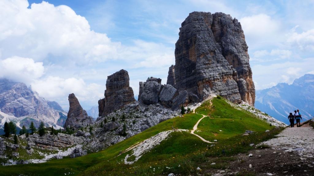 Кортина д'Ампеццо: Cinque Torri