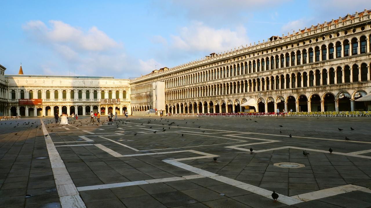 Венеция: площадь Сан Марко