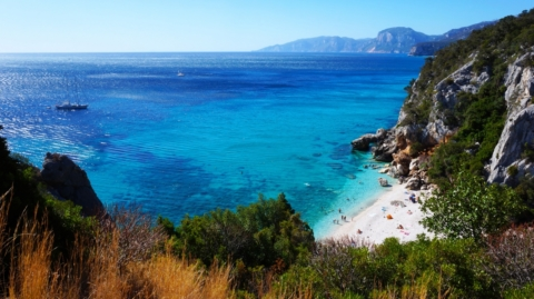 Пляж Cala Fuili — Сардиния