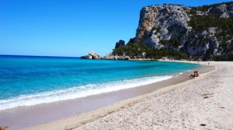 Пляж Cala Luna — Сардиния