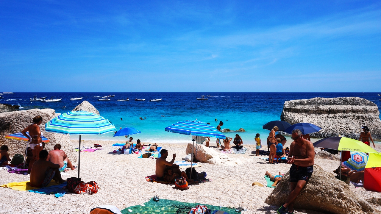 Сардиния: залив Орозеи - Cala Mariolu
