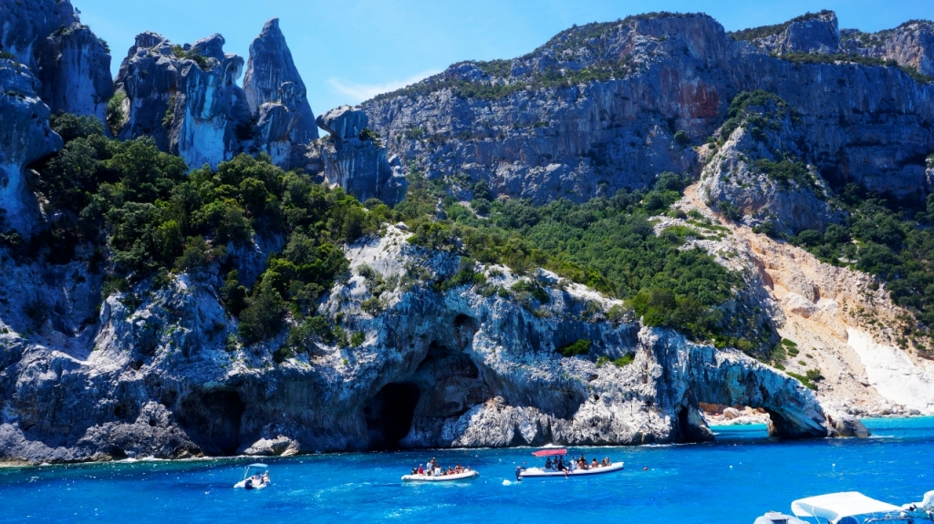 Сардиния: залив Орозеи - Cala Goloritze