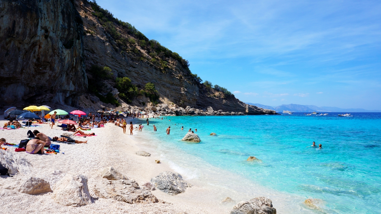 Сардиния: залив Орозеи - Cala Gabbiani