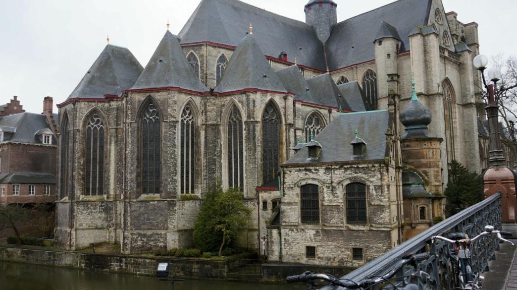 Гент, Бельгия: Церковь Святого Михаила