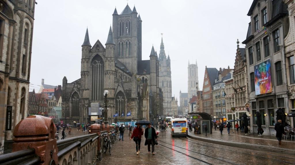 Гент, Бельгия: Церковь Святого Николая