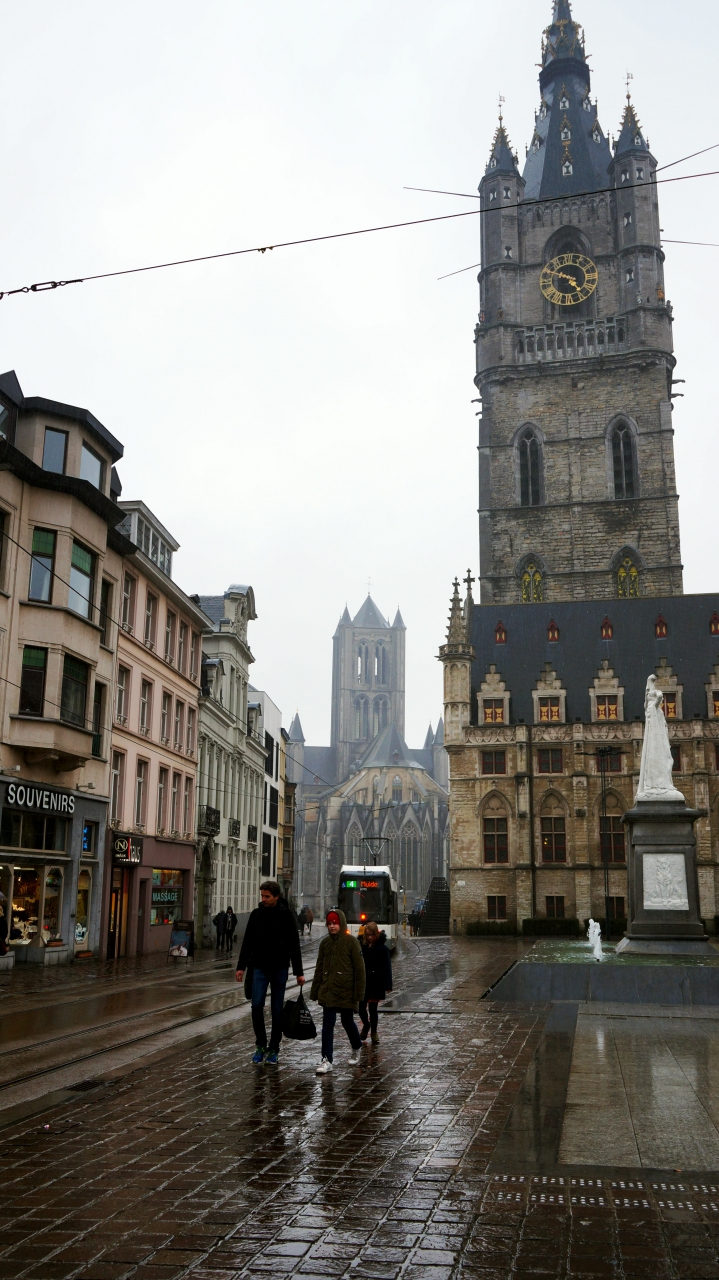 Гент, Бельгия: Колокольня Belfort
