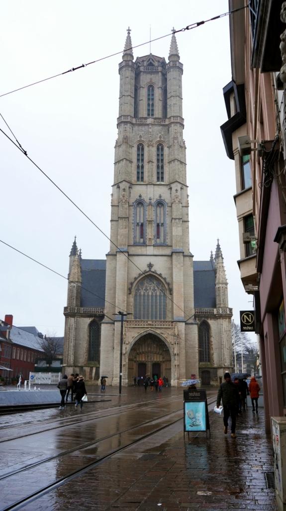 Гент, Бельгия: Кафедральный собор Святого Бавона