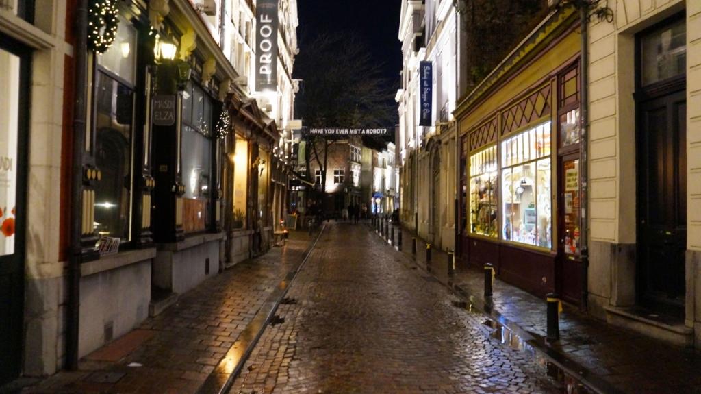 Ночной Гент, Бельгия