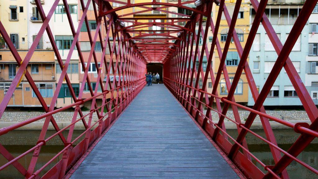 Жирона, Испания: Мост Эйфеля