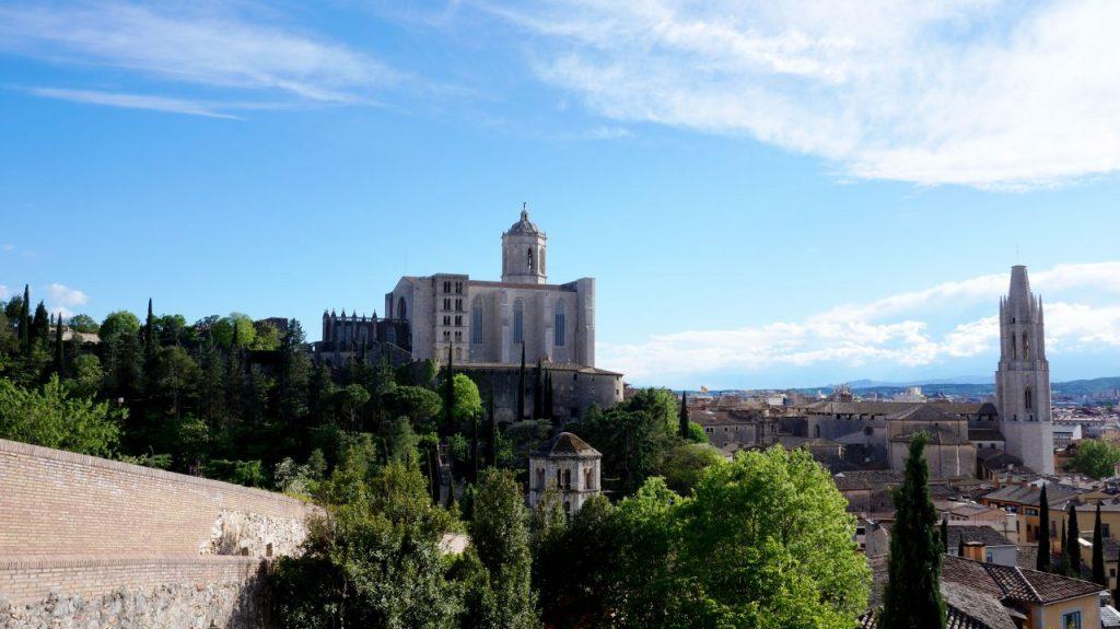 Жирона, Испания: смотровая площадка Santa Lucia