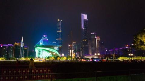 Пересадка в Гуанчжоу