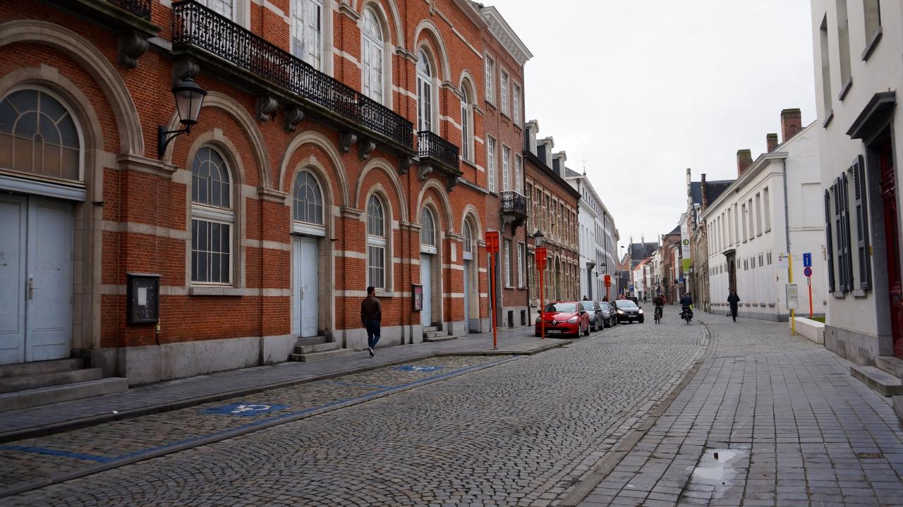 Улицы Мехелена